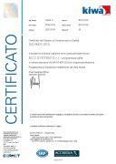 CERTIFICAZIONE ISO 9001 2015 REG. 18426- A